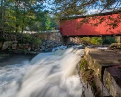 Packsaddle Covered Bridge: The Only Pennsylvania Covered Bridge with a Waterfall