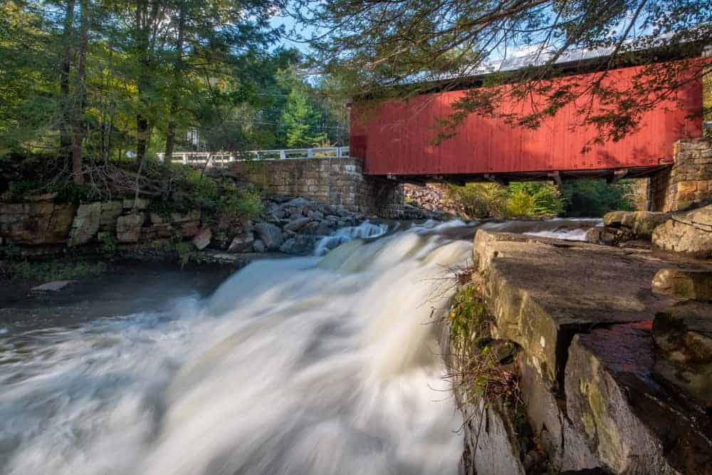 Packsaddle Covered Bridge in Somerset County PA