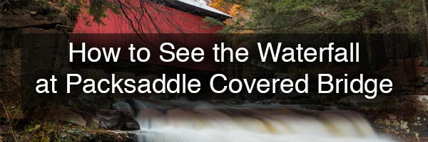 How to get to Packsaddle Covered Bridge