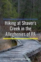 Shaver's Creek in Pennsylvania