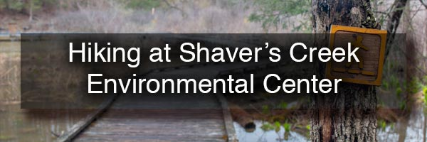Hiking at Shaver's Creek Environmental Center