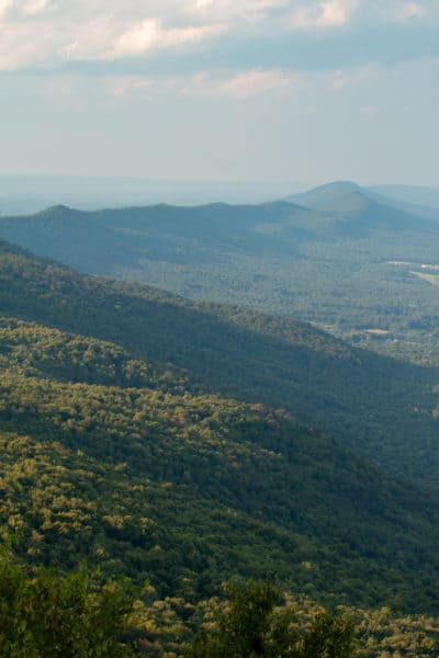 Tuscarora Mountain in Buchanan State Forest in PA