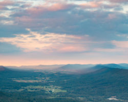 Big Mountain Overlook near McConnellsburg: One of PA's Most Impressive Vistas