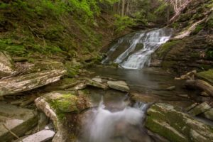 How to Get to Pine Island Run Falls in the PA Grand Canyon