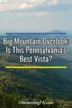 Big Mountain Overlook in Pennsylvania