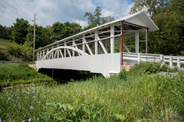 Bowser Covered Bridge in Bedford County PA