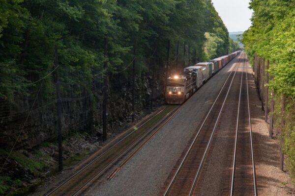Norfolk Southern Railroad in Cassandra Pennsylvania