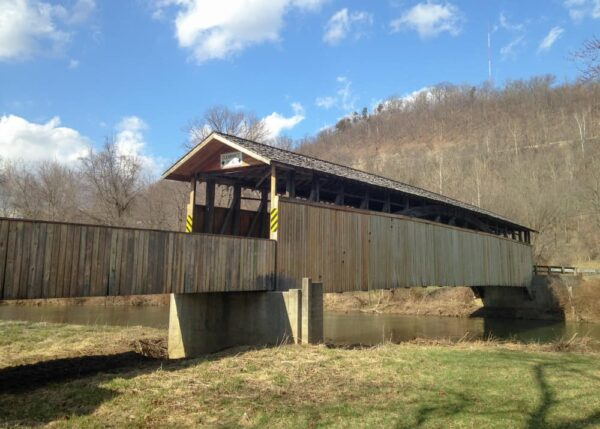 Claycomb Covered Bridge in Bedford PA