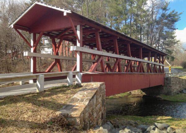 Colvin Covered Bridge in Bedford County PA