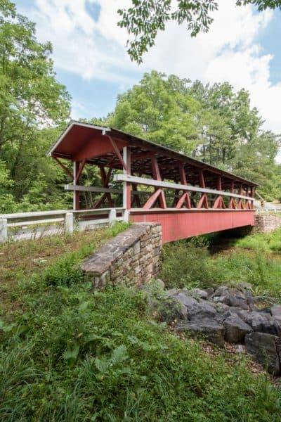 Colvin Covered Bridge in Bedford County Pennsylvania