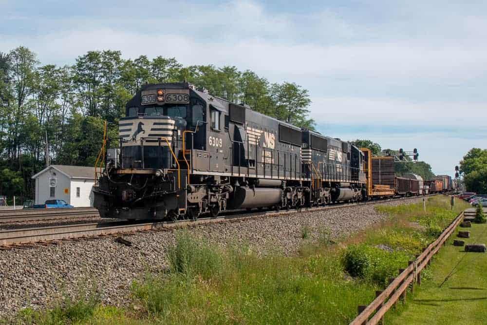 Train viewing spots near Altoona PA
