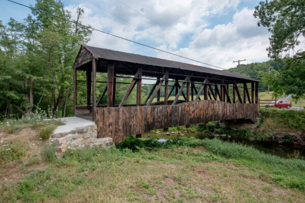 Cuppett's Covered Bridge in Bedford County PA