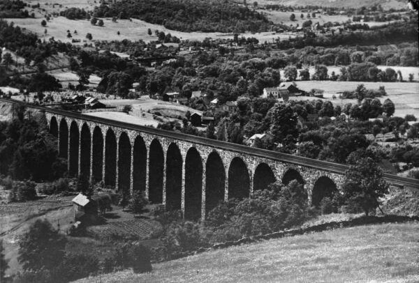 Photo of the Starrucca Viaduct in 1920
