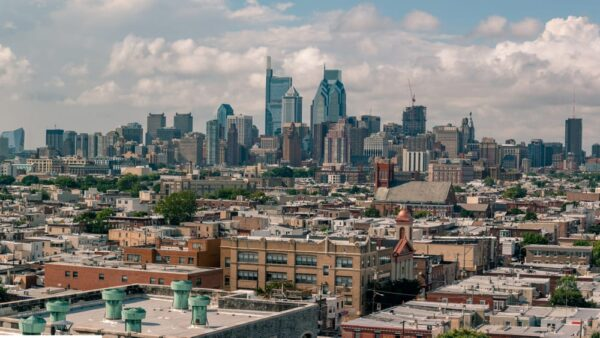 Puzzle of the Philly Skyline
