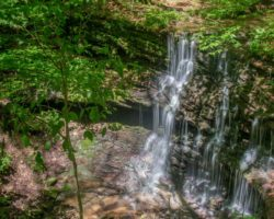How to Get to Pioneer Falls in Oil Creek State Park