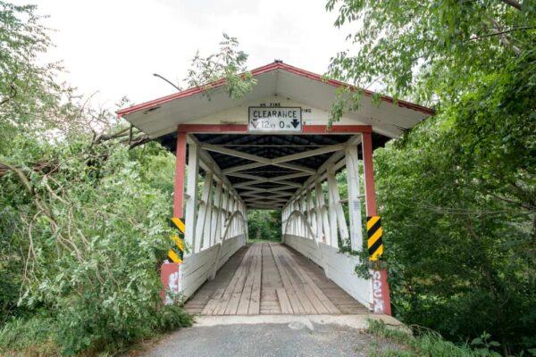 Turner's Covered Bridge in Bedford County Pennsylvania