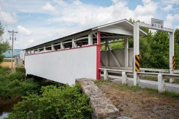 Ryot Covered Bridge in New Paris, PA