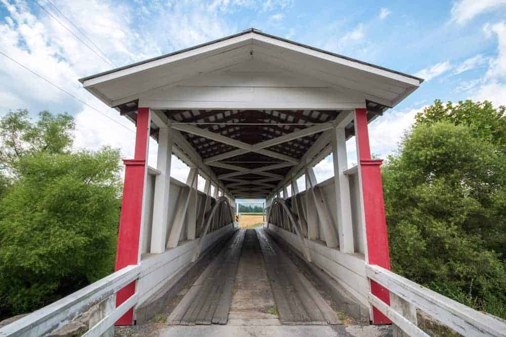 Ryot Covered Bridge in Bedford County, PA
