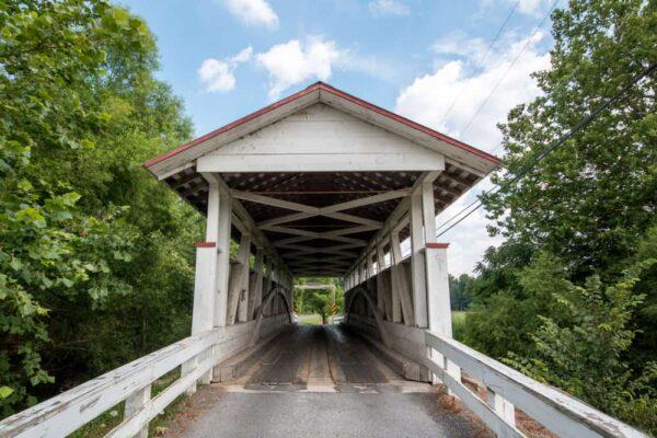 Snook's Covered Bridge near Pleasantville, PA.