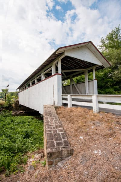 Snooks Covered Bridge in northern Bedford County PA