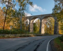 Visiting the Historic Starrucca Viaduct in Susquehanna County