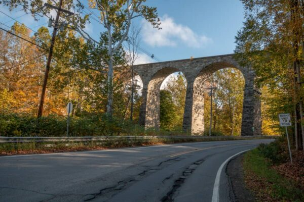 The Starrucca Viaduct in Lanesboro PA