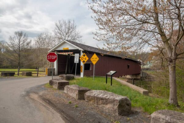 Jackson's Mill Covered Bridge near Quarryville PA