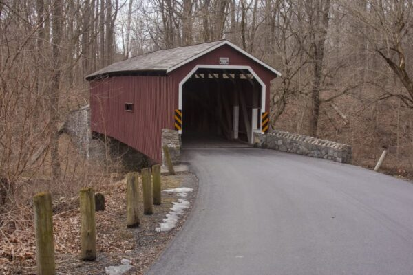 Kurtz's Mill Covered Bridge in Lancaster PA