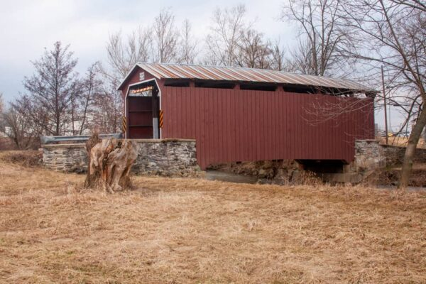 Landis Covered Bridge near Park City Mall in Lancaster PA