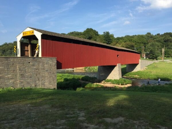 Pine Grove Covered Bridge near Oxford, PA