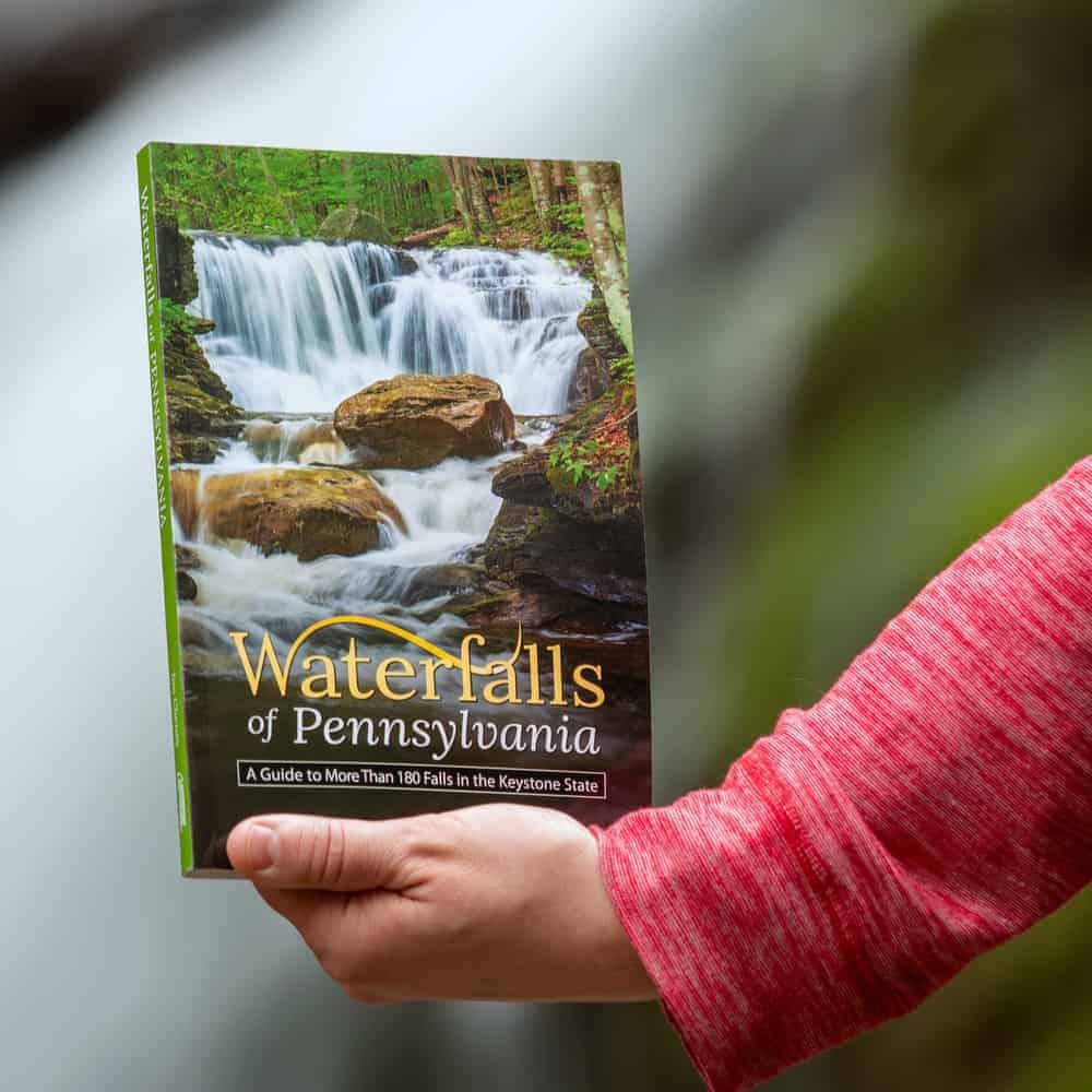 Waterfalls of Pennsylvania Book by Jim Cheney