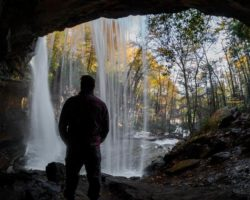 9 PA Waterfalls You Can Stand Behind