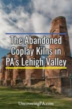 Coplay Kilns in Lehigh Valley of Pennsylvania