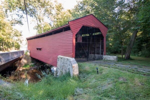 Bartram's Covered Bridge in Delaware County PA