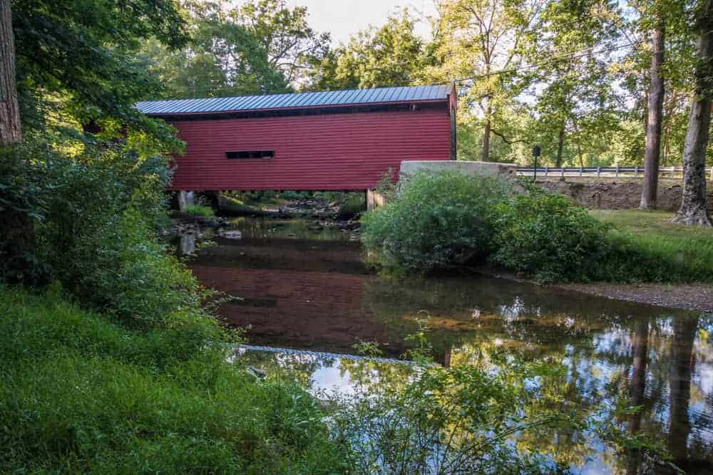 Bartram's Covered Bridge in Chester County PA