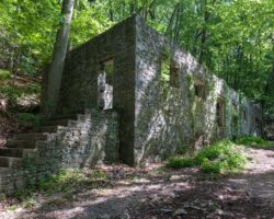 Hiking the Mount Misery Trails to the Abandoned Colonial Springs Bottling Plant at Valley Forge