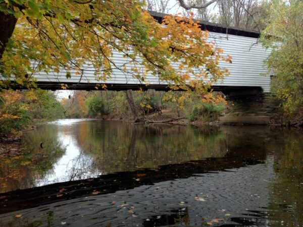 Gibson Covered Bridge is the closest bridge to Downingtown, PA