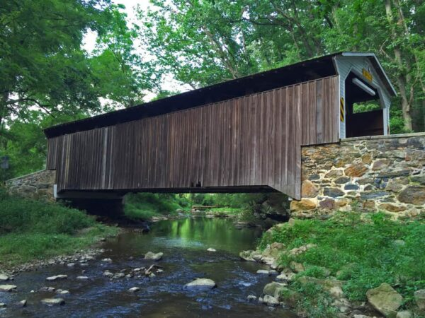 Glen Hope Covered Bridge in Chester County PA