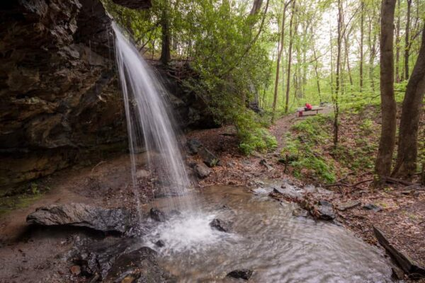 Great Passage Falls in the Laurel Highlands of PA