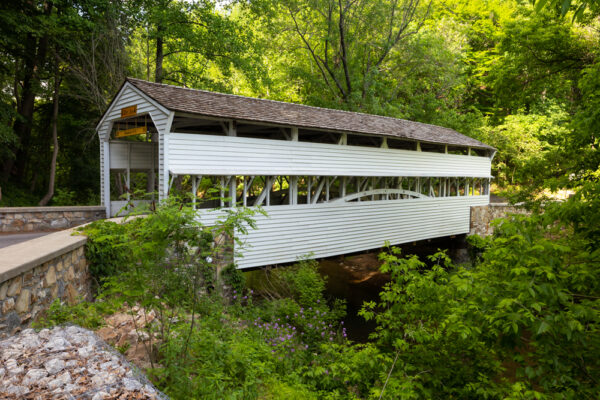 Knox Covered Bridge in Chester County PA