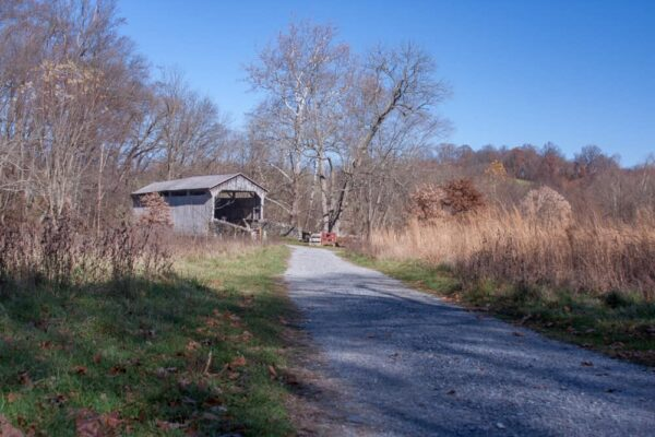 Hayes Clark Covered Bridge in Chester County PA
