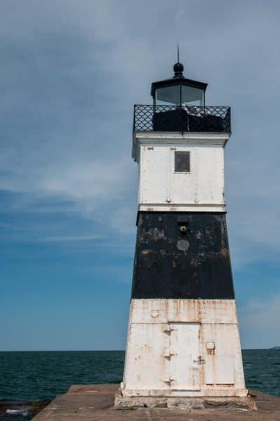 North Pier Light in Erie's Presque Isle State Park