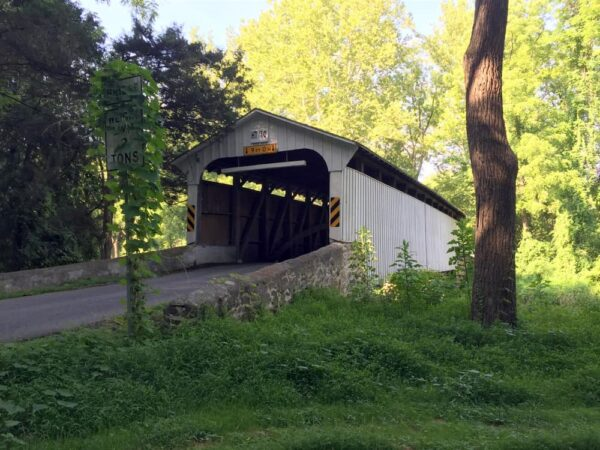 Rudolph Arthur Covered Bridge in southern Chester County PA
