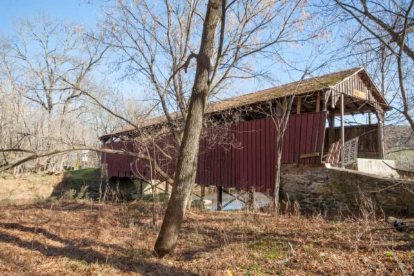 Speakman #1 Covered Bridge in Chester County, PA