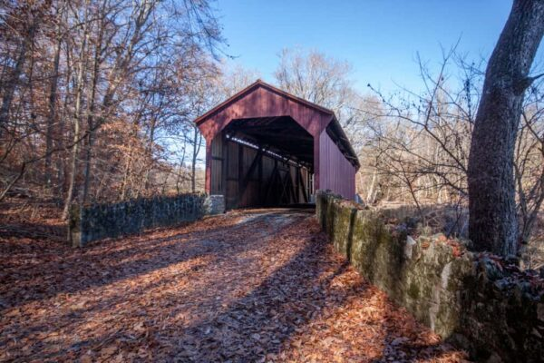 Speakman #2 Covered Bridge in Chester County PA