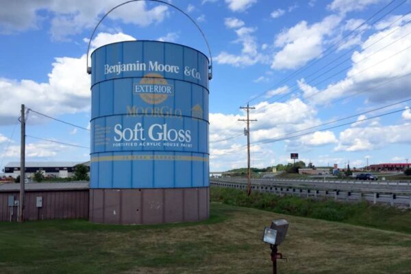 Giant paint can near Shippensburg PA