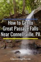 Great Passage Falls in Connellsville PA