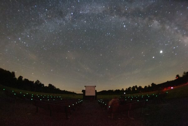Milkway Over Cherry Springs State Park in Pennsylvania