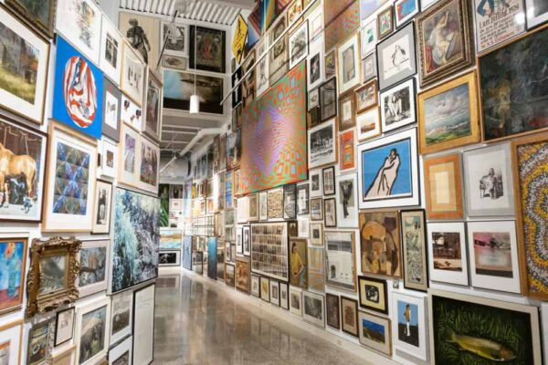 Everything but the Shelves Gallery at the Erie Art Museum in Erie PA