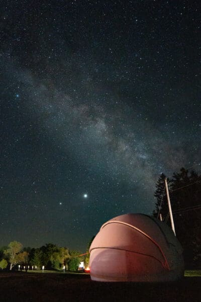 Seeing the Milky Way at Pennsylvania's Cherry Springs State Park